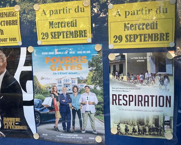 Respiration au cinéma Concorde Moissac